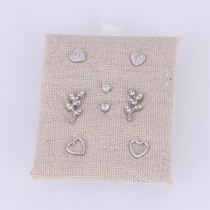 4 Pair Charm Heart Branch Stud Earring.jpg