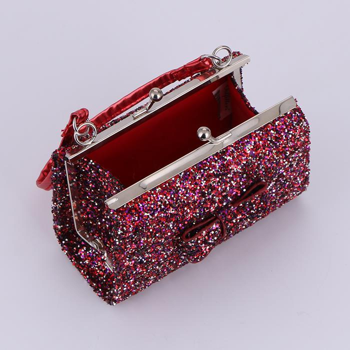 Elegant Shiny Square Handbag.JPG