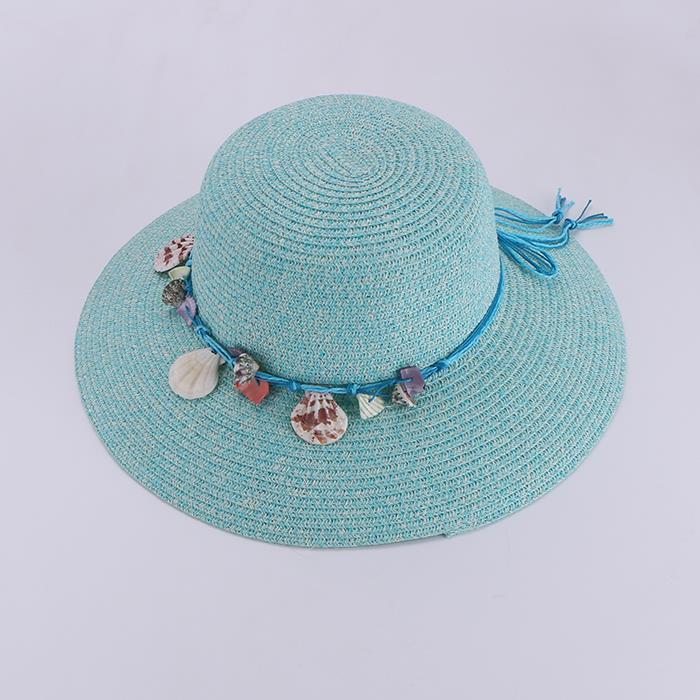 Wild sunscreen small shell visor seaside resort beach hat.JPG