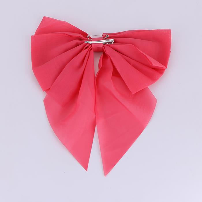 Cute Solid Color Big Bowknot Hairclip.JPG