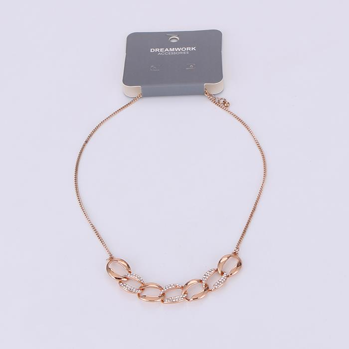 Stylish and delicate chain styling necklace.JPG