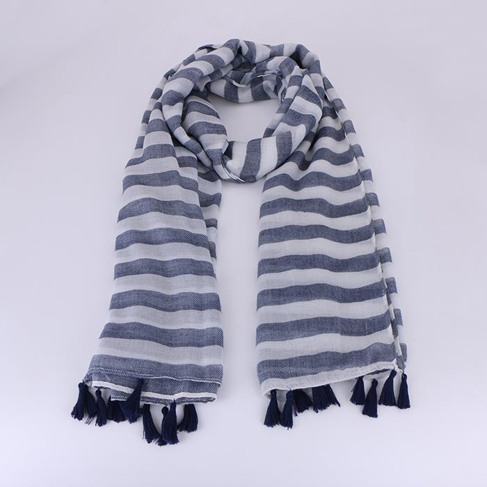Winter Scarf Warm Soft Tassel Woven Cotton Scarves.JPG