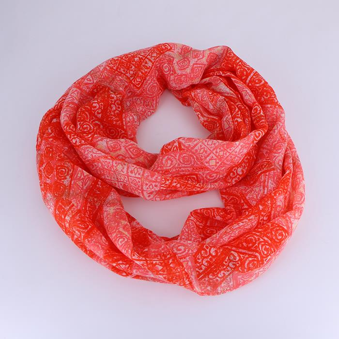 Ethnic Printing Cotton Solid Color Scarves.JPG