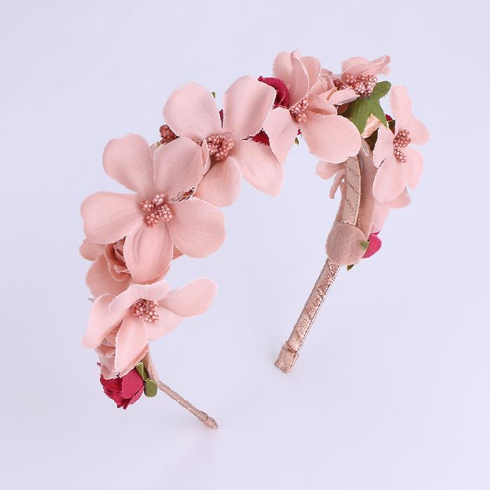 Charm Flower Headbands Bridal Hair Ornaments.JPG