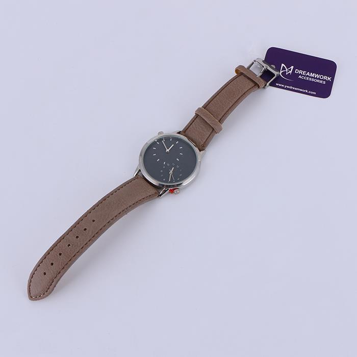 Classic Men'S 4cm Quartz Leather Watch.JPG