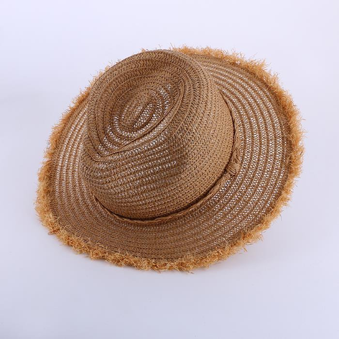 Vintage summer Sun Straw Hat.JPG
