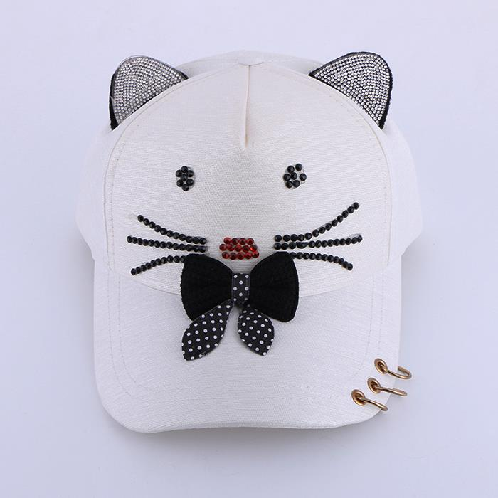 Cute Cartoon Cat Shape Sun Hat.JPG