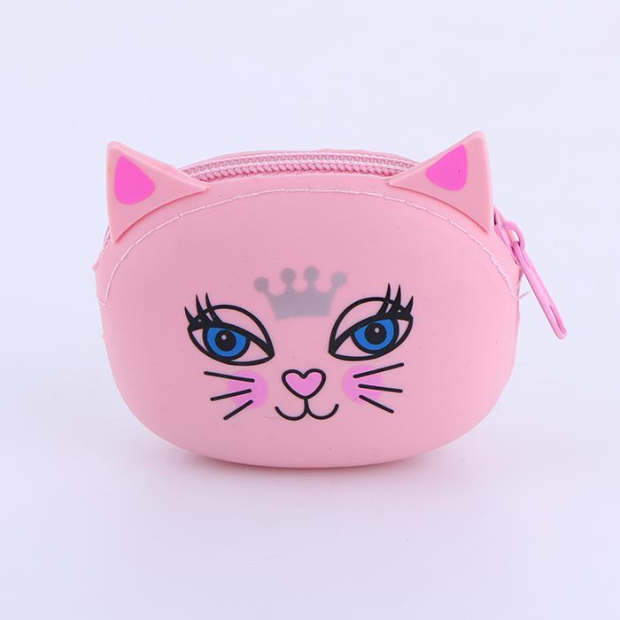 Candy-colored Cute Cartoon Wallet Coin Bag .JPG