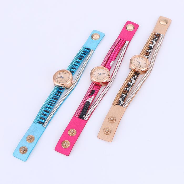 Personality Korean Velcro Dip Buckle Watch.JPG