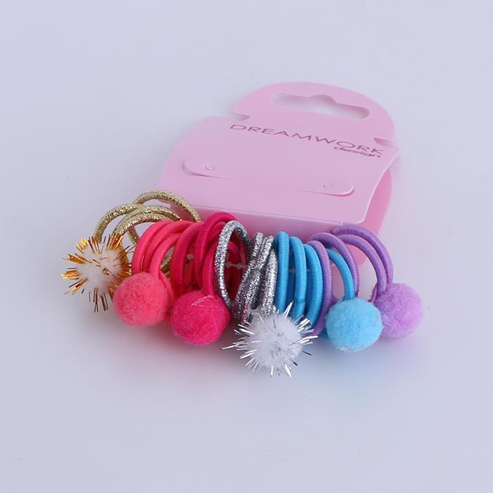 Cute Colorful Child Hair Rope Ponytail Hair Ties.JPG