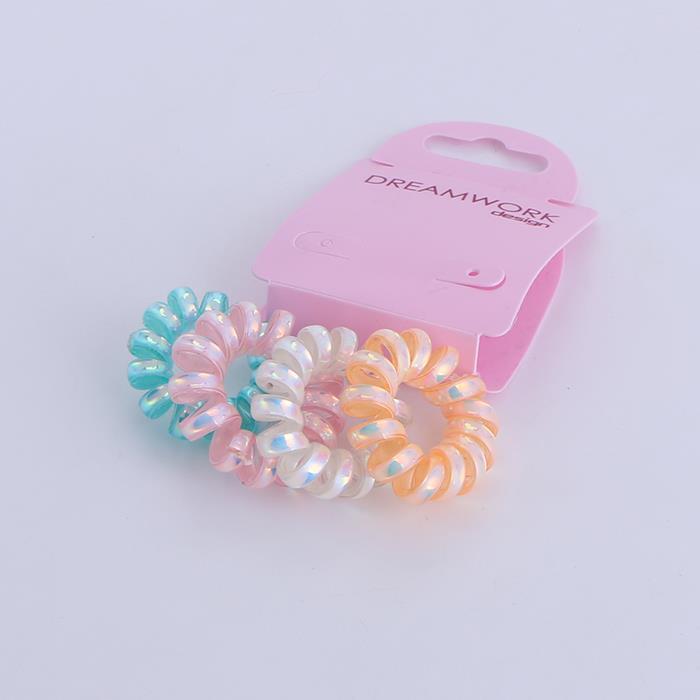 4pcs/Set Candy Color Telephone Cord Hair Ties.JPG
