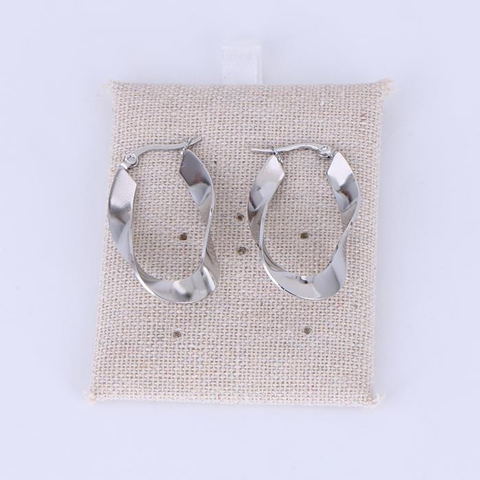 Simply geometric helix hoop earring.JPG