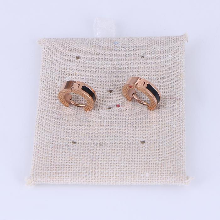 Stainless Steel Small Hoop Earrings for Men Women .JPG