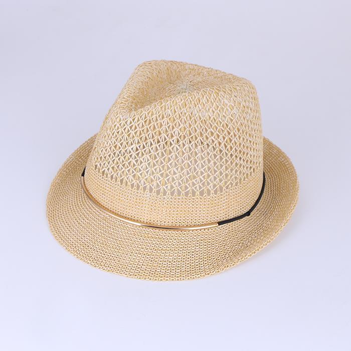 Classic Hand Made Weave Straw Sun Hat.jpg