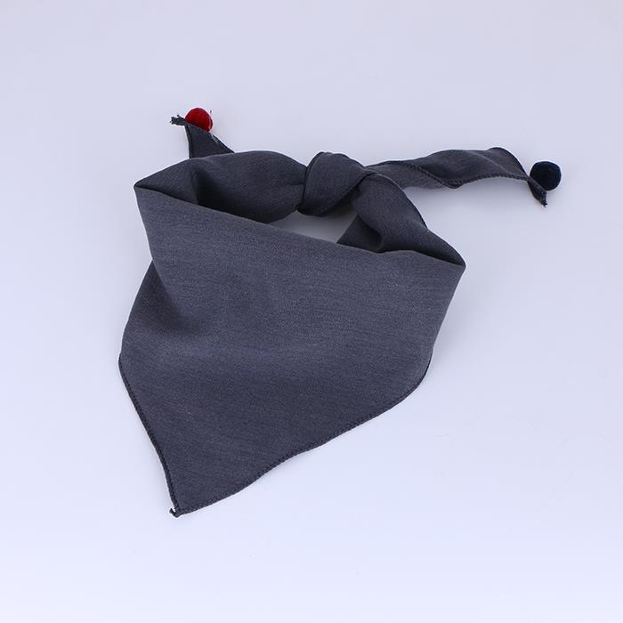 Classic solid Triangular Scarf Neckerchief.jpg