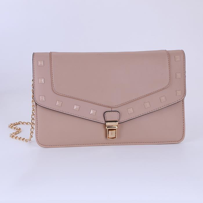 Trendy Women Rivet Small Shoulder Bag.JPG