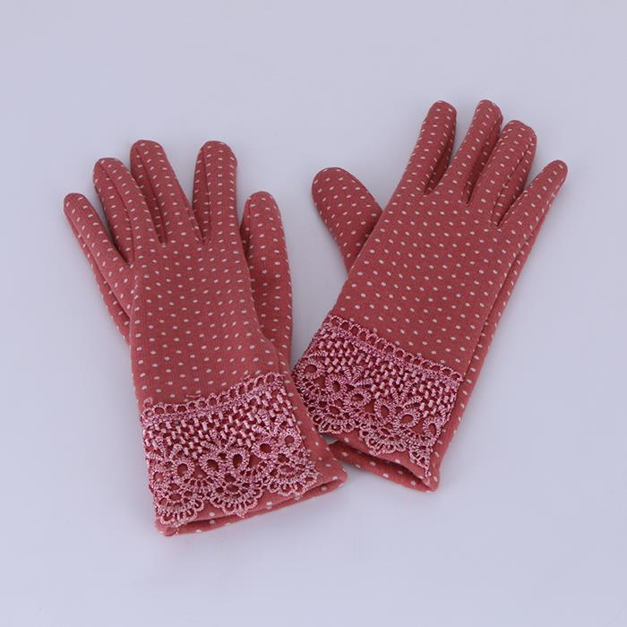 Autumn Winter gloves Soft Gloves Mitten Warm Winter Lace Gloves.JPG