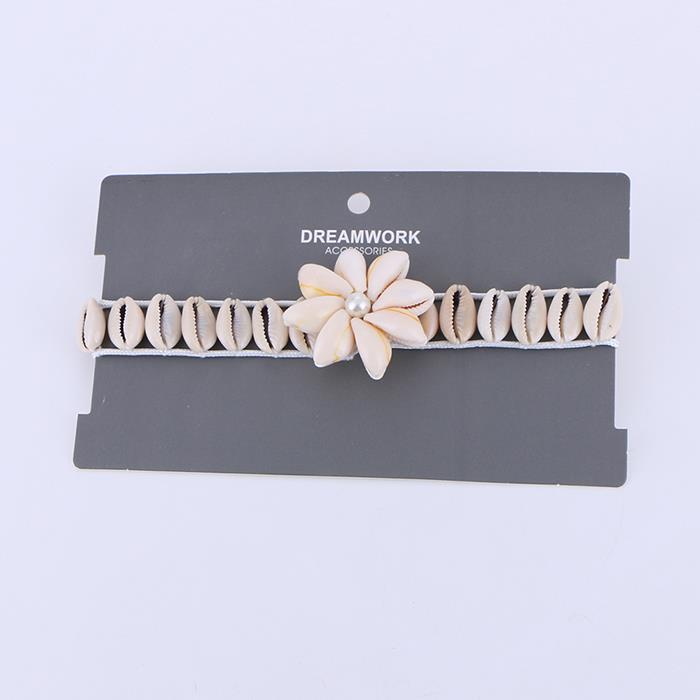 Hawaiian Natural Shell Beaded Necklace.jpg