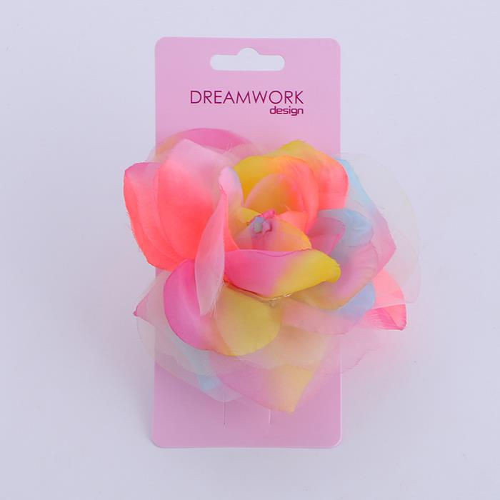 Led Colorful Rose Beach Party Hair Clips.jpg