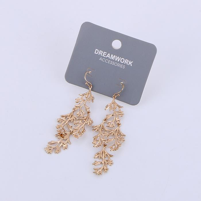 Elegant Women's Tree Branches Dangle Earrings .jpg