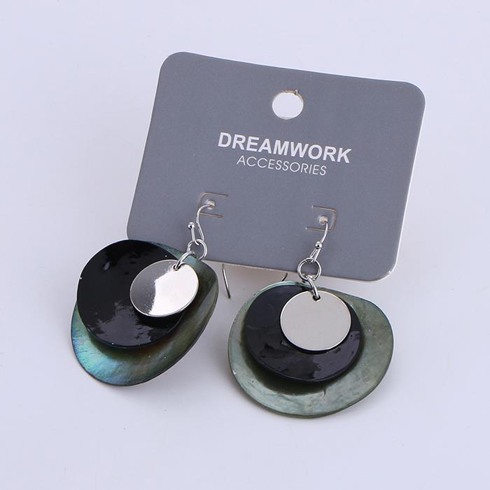 Trendy Multilayer Geometric Sea Shell Earring .jpg