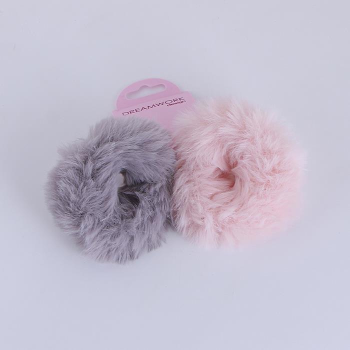 Multicolor cute sweet imitation rabbit hair rope.jpg