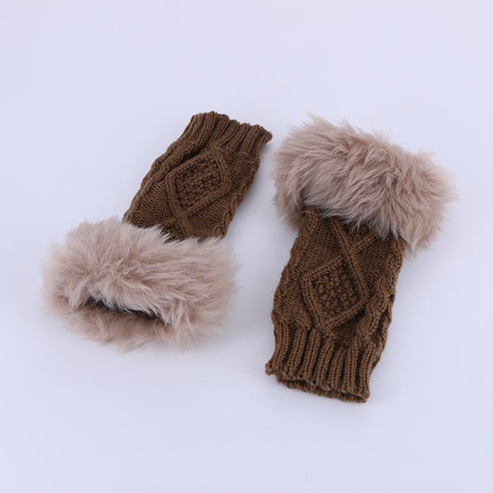Fingerless Gloves Short Sleeve Crochet Arm Warmers Knitting Pattern Winter Gloves.JPG