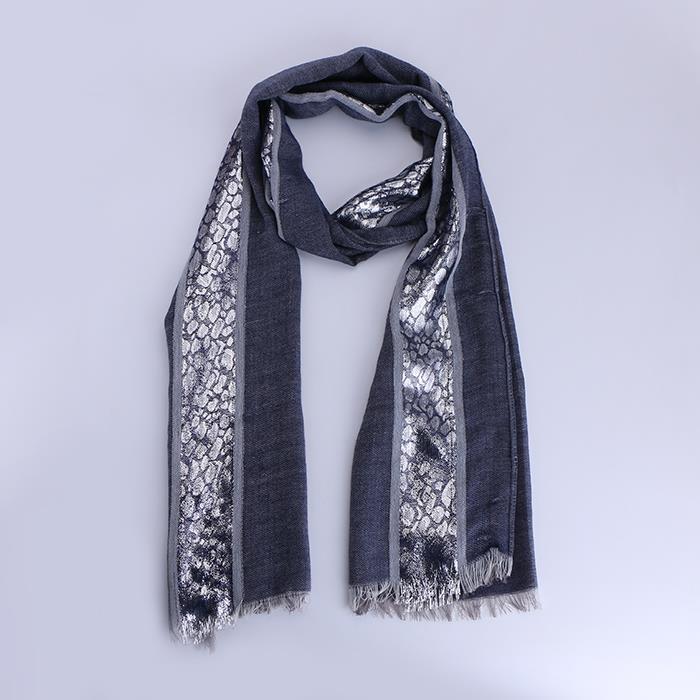 Classic Autumn Winter Ladies Long Sequin Scarf Shawl .JPG