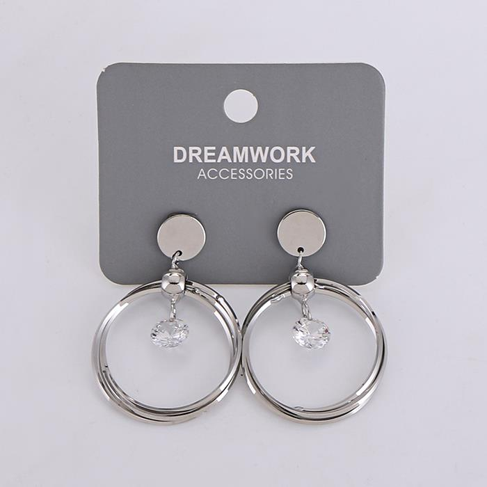 Charm Geometric Round Crystal Drop Earring.jpg