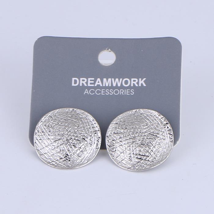 Simply round metal stud earring.jpg