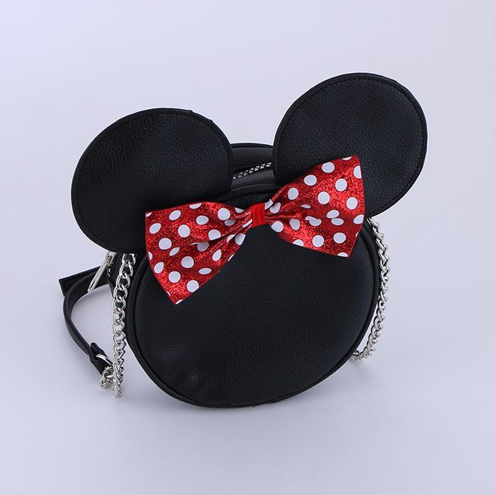 Cute Mickey Bow Shape Crossbody Shoulder Bag.jpg