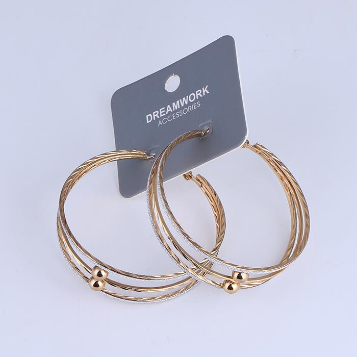 Punk Circular Ring Dangle Hoop Earring.jpg