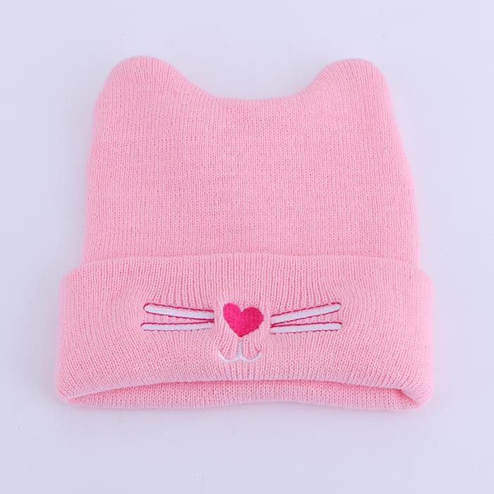 Newborn babies warm fashion soft knit hat.JPG
