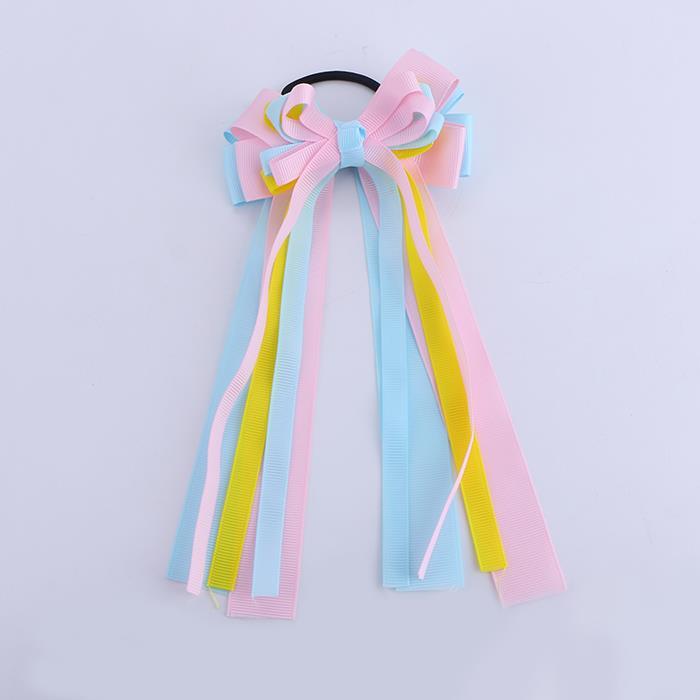 Korean Style Hair Ties Set Ponytail Holder Elegant Ribbon.JPG