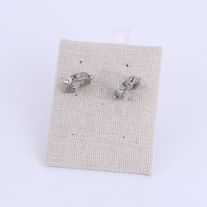 Stainless steel punk studded round ring earrings.jpg