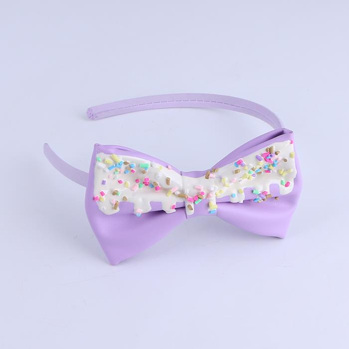 Cute Girls Boutique Grosgrain Ribbon Headband With Bows