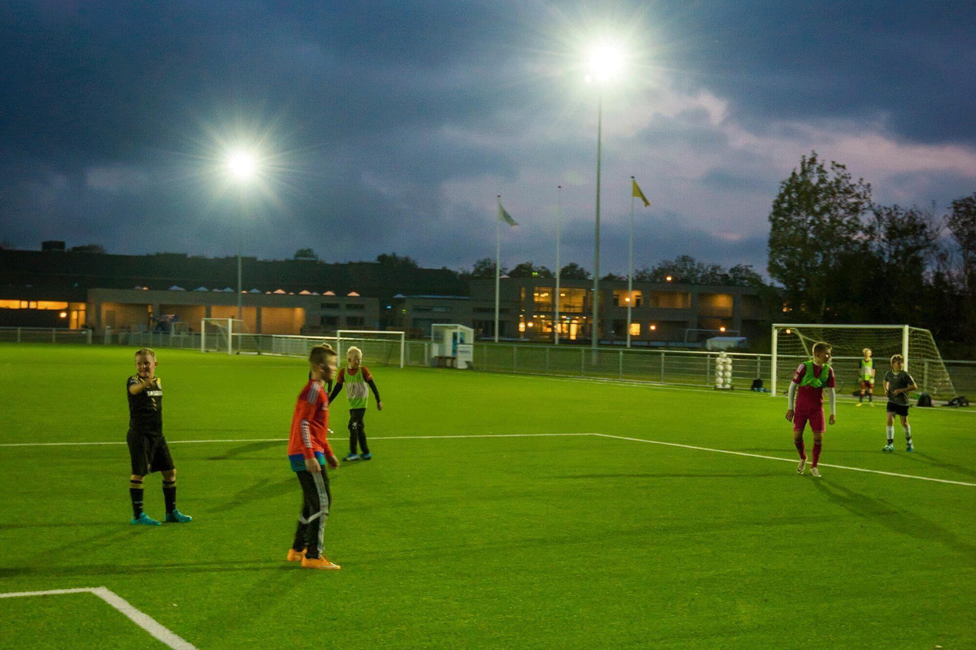 football stadium light