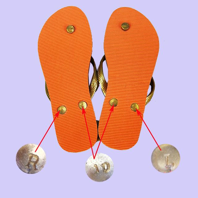 Details of Ladies Flip Flops