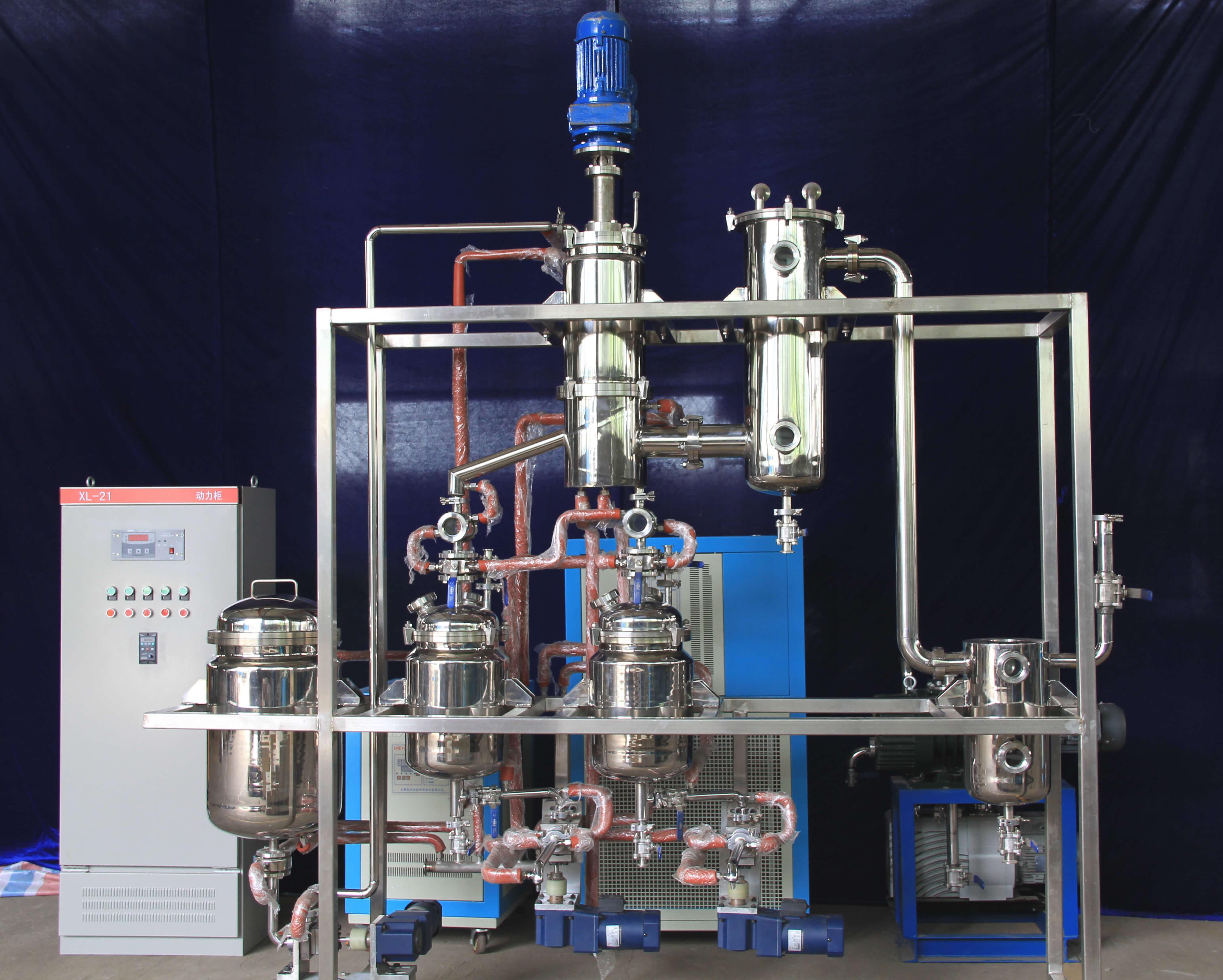 molecular distiller for essencial oil distillation
