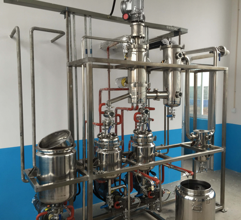 short path molecular distillation equipment supplier