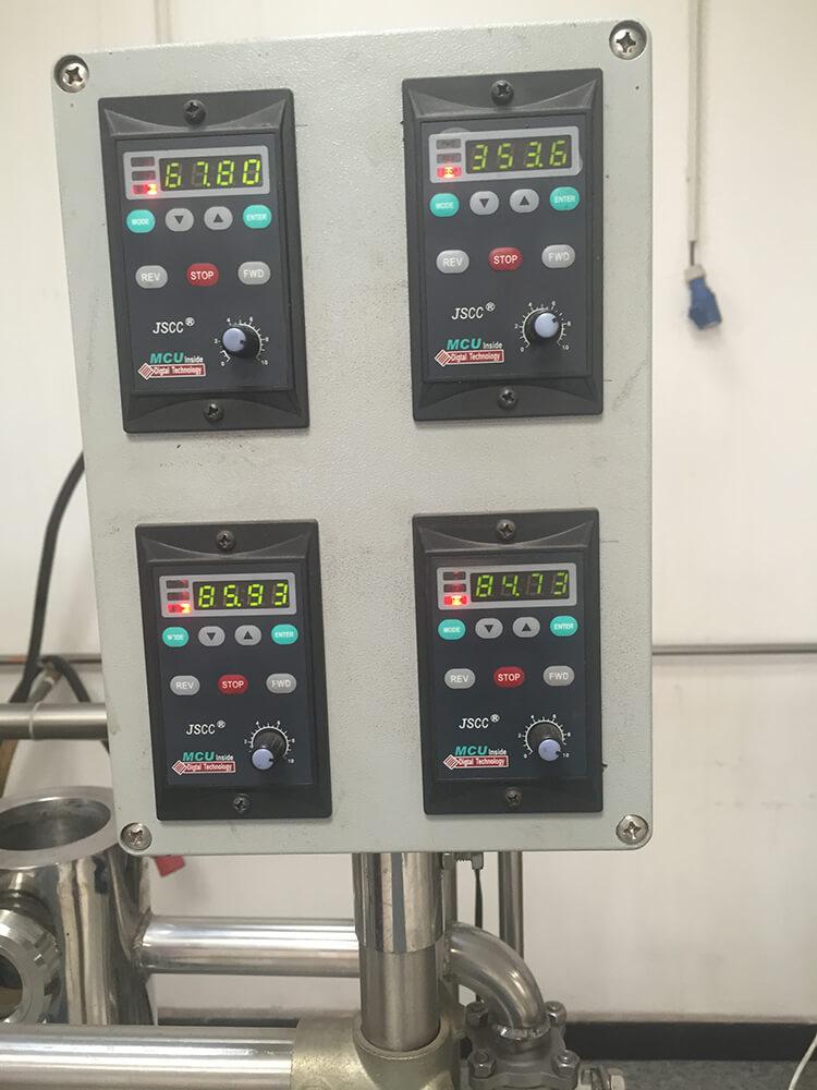 molecular distillation equipment control system
