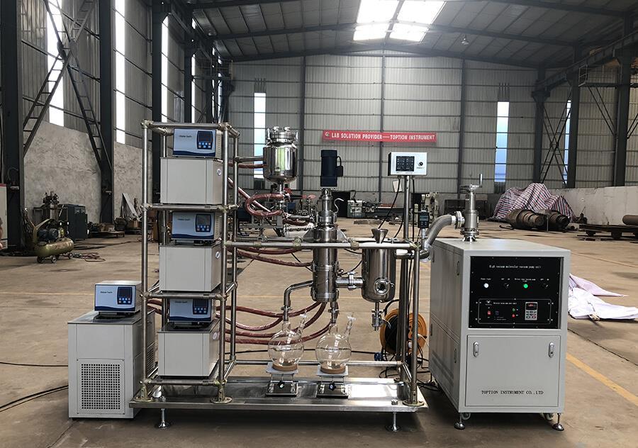 molecular distillation machine factory