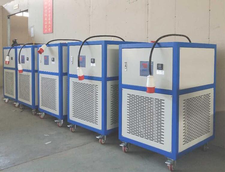 heating circulators of molecular distillation equipment