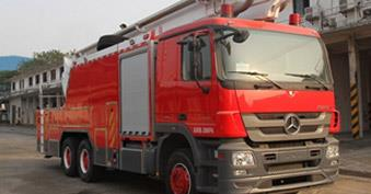 Three-phase jet fire engine