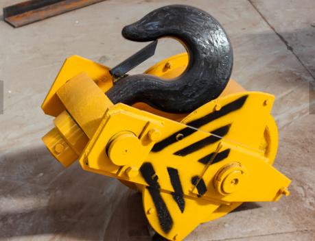 crane hook block parts