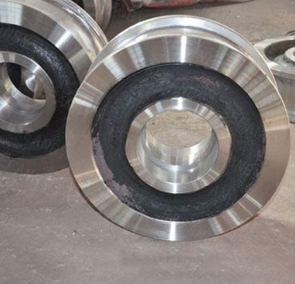 flanged steel wheels
