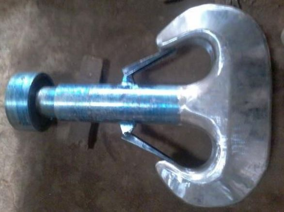 Forged Ramshorn Hook