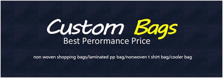 Full Printing Laminated Non Woven Shopping Bag