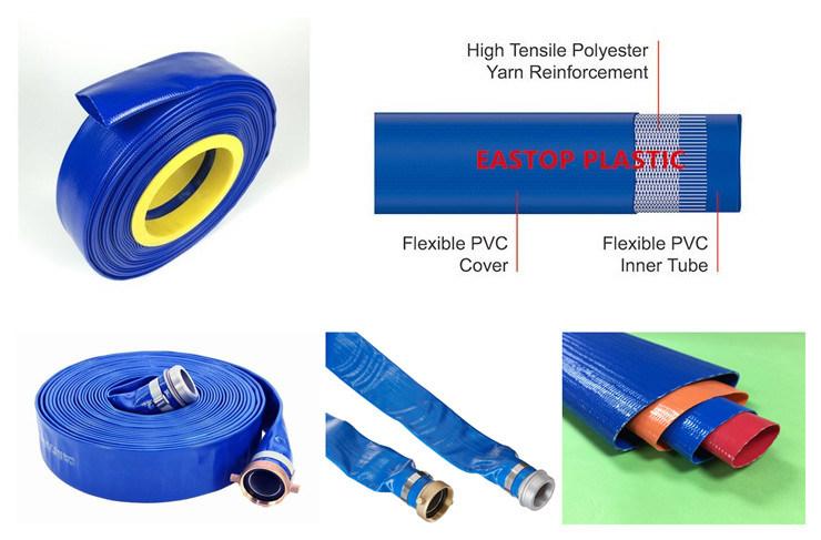 2bar, 4bar, 6bar, 8bar, 10bar PVC Layflat Pipe Tube Hose