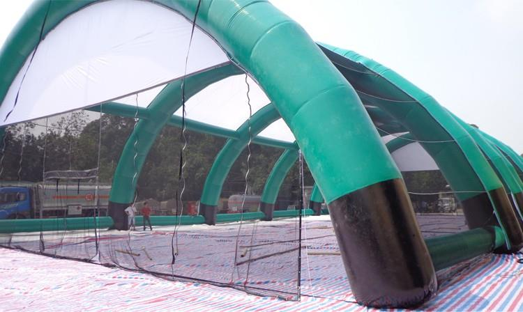 Inflatable Paintball Filed Arena Tent